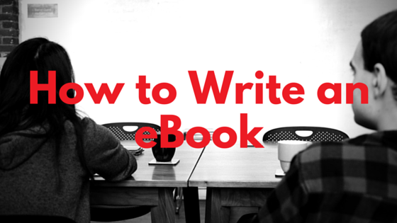 How to Write an eBook (1)