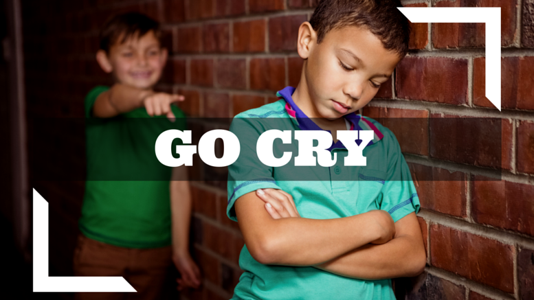 make fun of people and make them cry