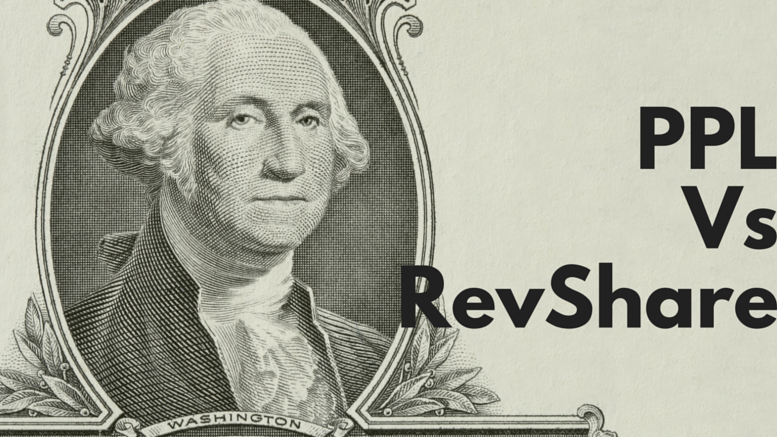 pay per lead versus revshare revenue sharing