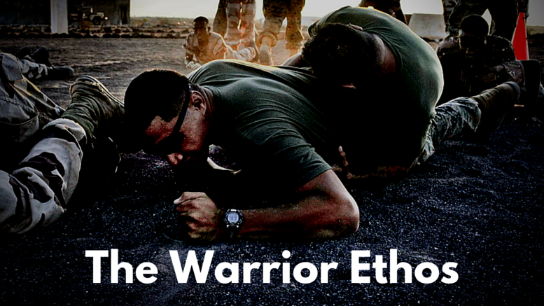 warrior ethos by steven pressfield